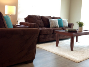 Classic living room at nexton