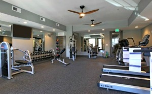 TC at LC fitness center
